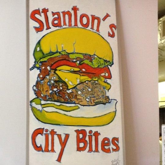Photo taken at Stanton's City Bites by Summer on 2/11/2012
