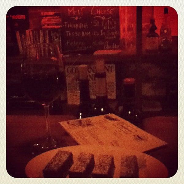 Photo taken at Custom Wine Bar by Jeff M. on 10/26/2011