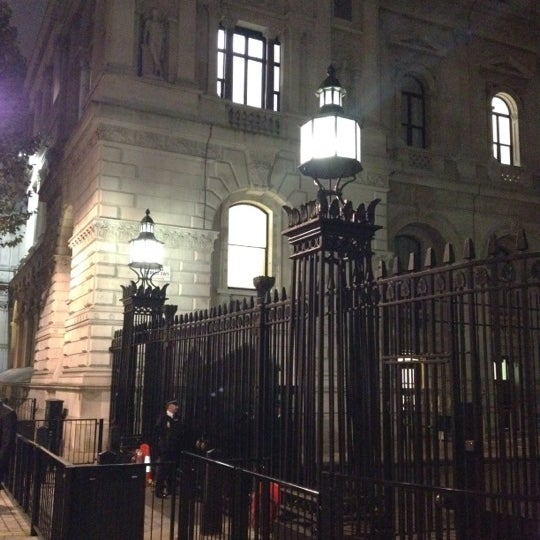 Photo taken at 10 Downing Street by Andrea R. on 10/21/2011