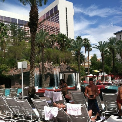 Photo taken at Flamingo GO Pool by Cassi on 7/29/2012