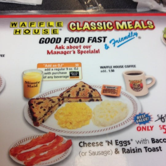 Photo taken at Waffle House by Tony B. on 6/1/2012