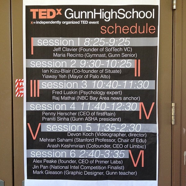 Us Columbine Shares Message For Nearby School After: Henry M. Gunn High School