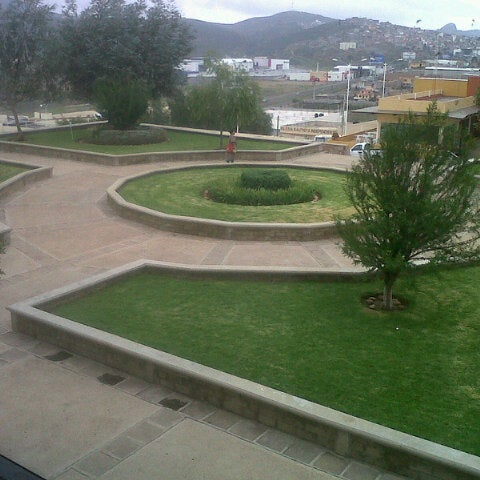 Photo taken at Universidad Autónoma de Durango Campus Zacatecas by Eri R. on 9/1/2012