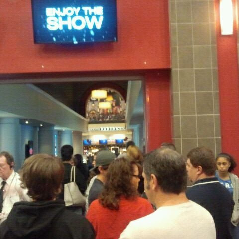Photo taken at Frank Theatres - Queensgate Stadium 13 by Beth G. on 3/24/2012