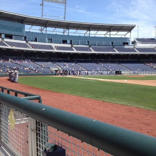Photo taken at TD Ameritrade Park by Jason D. on 5/15/2012