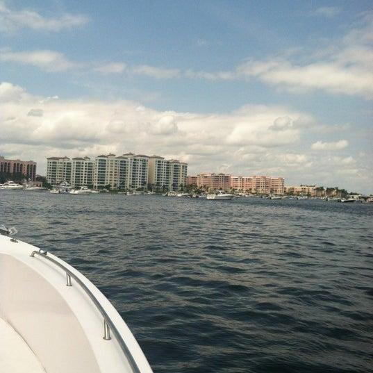 Photo taken at Lake Boca Raton by LeenO on 9/2/2012
