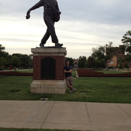 Photo taken at South Oval by Thomas I. on 5/11/2012