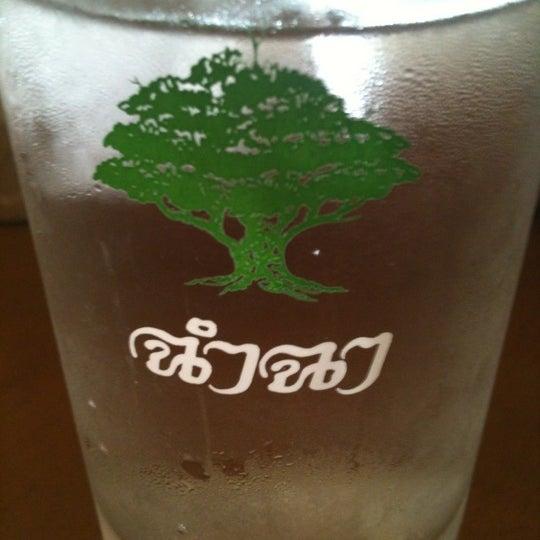 Photo taken at ร้านอาหารฉำฉา by Apicha P. on 4/24/2012