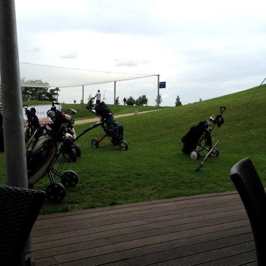 Photo taken at Golf Hostivař by Petis on 7/11/2012
