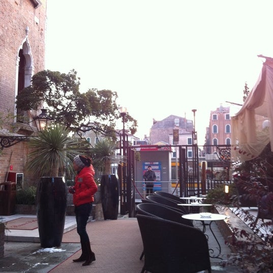 Photo taken at Ca' Sagredo Hotel Venice by Elly L. on 2/13/2012