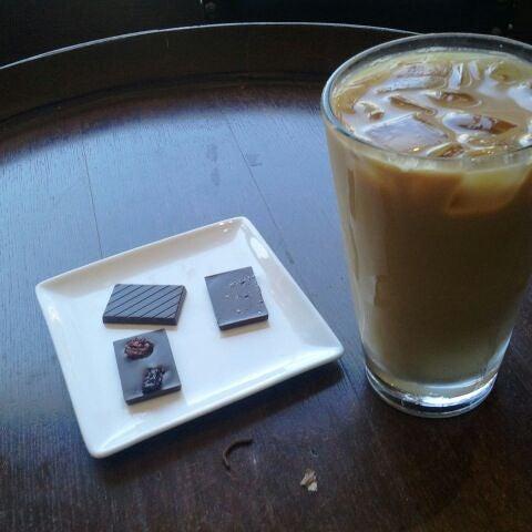 Photo taken at Stanza Coffee Bar by Carmen M. on 7/7/2012