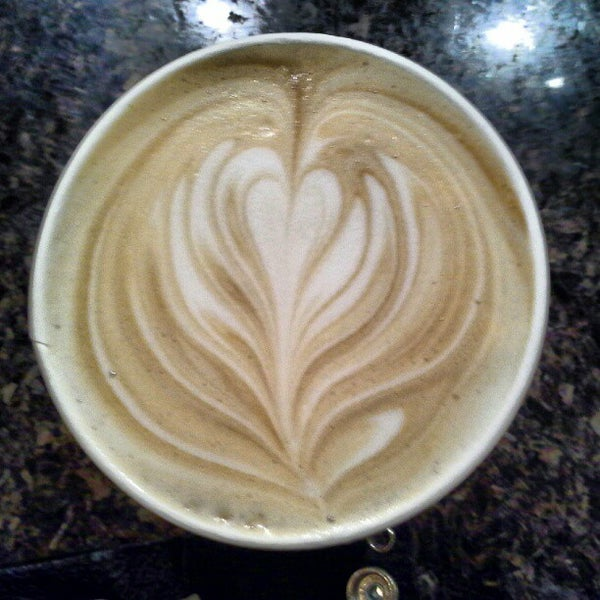 Photo taken at Espresso Vivace by Danielle B. on 8/25/2012