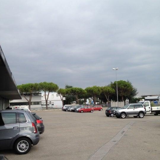 Photo taken at Parcheggio Via Sassonia by Namer M. on 7/24/2012