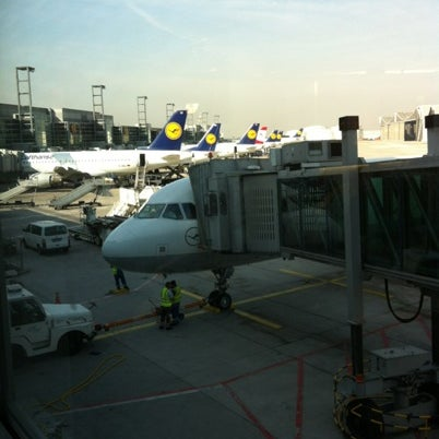 Photo taken at Gate A25 by Alice on 8/21/2012