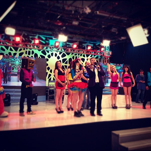 Photo taken at Multimedios Televisión by Gilberto D. on 6/11/2012