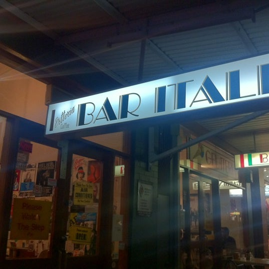 Photo taken at Bar Italia by Alanis K. on 7/10/2012