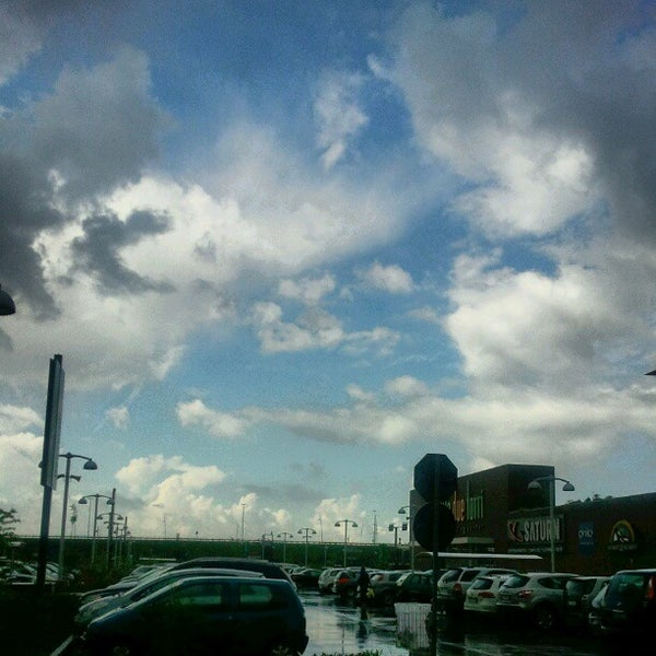 Photo taken at Le Due Torri Shopping Center by Fabio F. on 4/22/2012