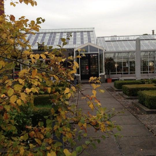 Photo taken at De Kas by Edmond H. on 10/17/2012