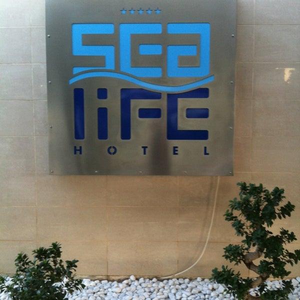 7/27/2013 tarihinde Ninel P.ziyaretçi tarafından Sea Life Resort Hotel'de çekilen fotoğraf