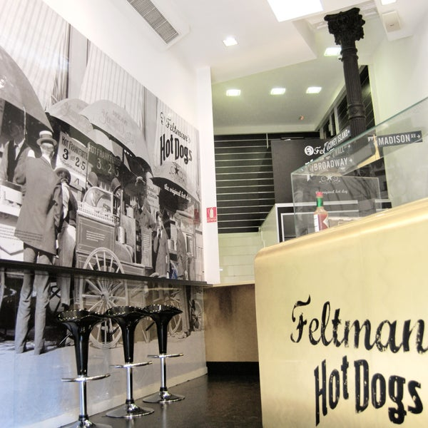 Photo taken at Feltman's Hot Dogs by Feltman's Hot Dogs on 10/14/2013