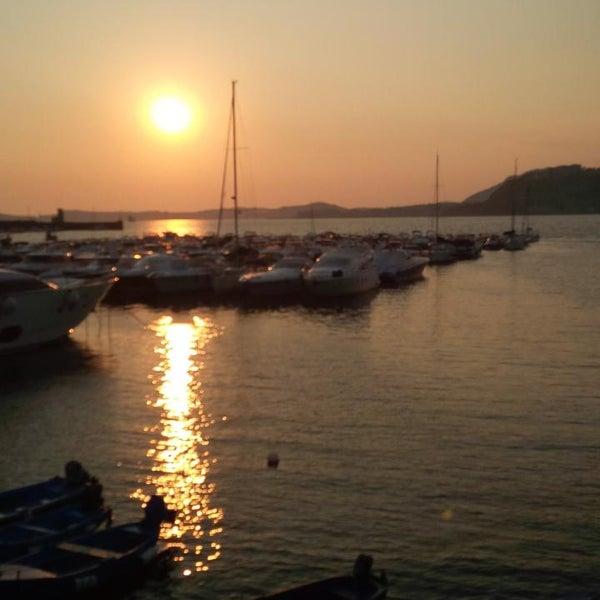 Photo taken at Isola di Nisida - Nisida Island by Davide M. on 7/20/2013
