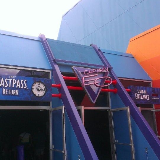 Photo taken at Captain EO by Keith A. on 7/11/2013