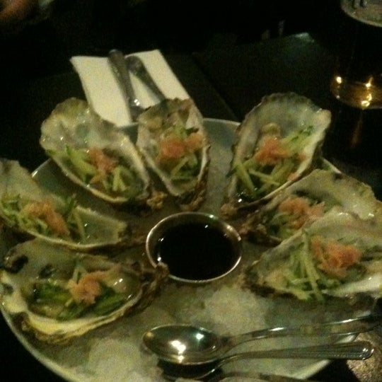 Photo taken at Mourne Seafood Bar by Juan V. on 10/3/2012