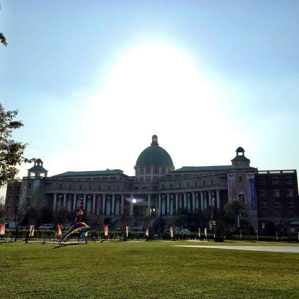 Photo taken at Asia University by Liz W. on 1/11/2015
