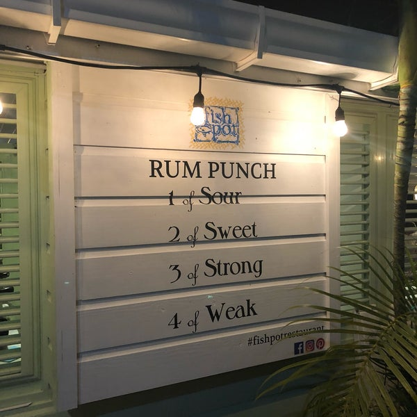 The seafood here is excellent. The catch of the day is some of the best fish I've had. And top it off with a great rum punch.