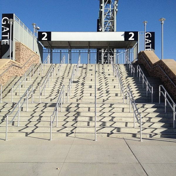 Photo taken at TD Ameritrade Park by Andrew N. on 11/20/2012