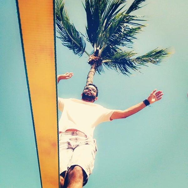 Foto tirada no(a) La Rocca Brasil - Beach Hostel Porto de Galinhas por Bruno Henrique C. em 11/8/2014