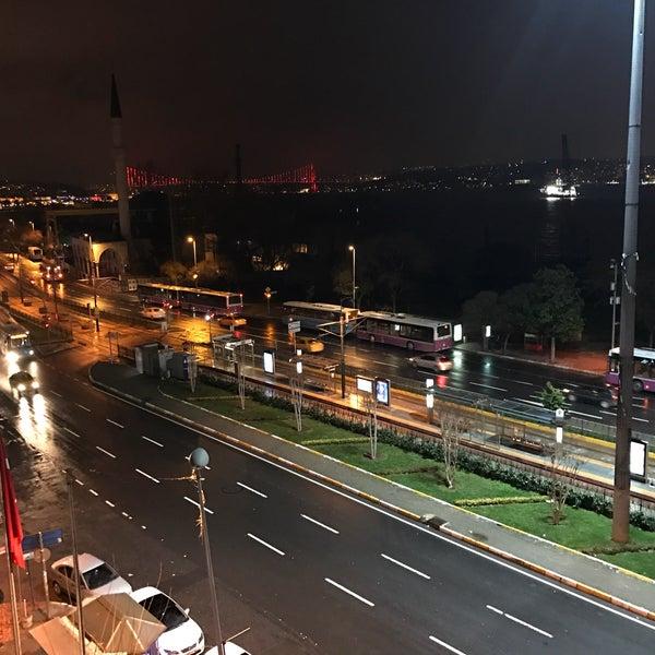 1/15/2017 tarihinde Burak C.ziyaretçi tarafından Anjer Hotel Bosphorus'de çekilen fotoğraf