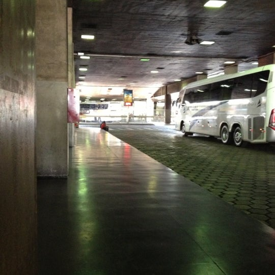Photo taken at Terminal Rodoviário Governador Israel Pinheiro by Guilherme M. on 10/11/2012