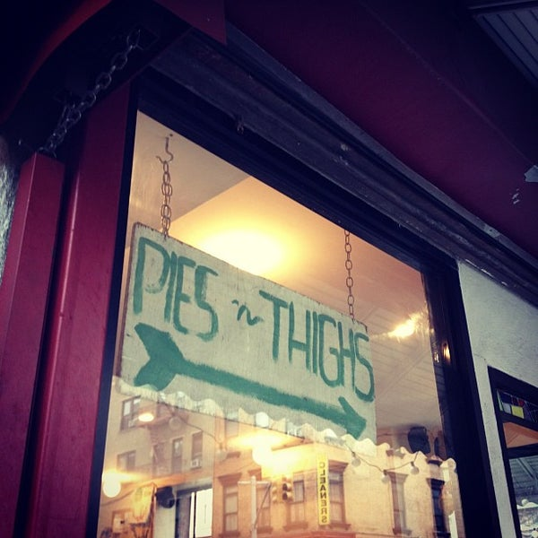 Photo taken at Pies 'n' Thighs by Ayesha M. on 12/10/2012