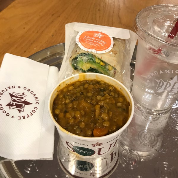 Photo taken at Pret A Manger by gabby b. on 5/10/2017