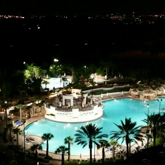 Photo taken at Marriott World Center Pool by Henry H. on 7/3/2015