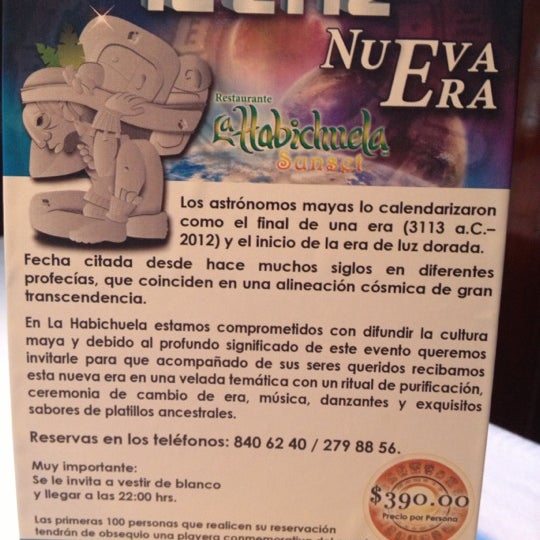 Foto tomada en La Habichuela por Cesar T. el 12/15/2012