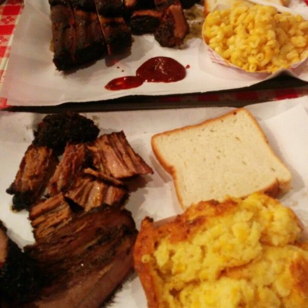 Photo taken at John Brown Smokehouse by Jonathan S. on 1/18/2015