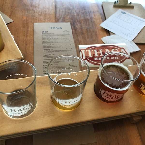 Photo taken at Ithaca Beer Co. Taproom by Matt B. on 7/11/2018