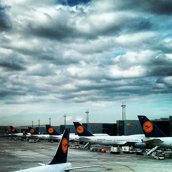 Das Foto wurde bei Frankfurt Airport (FRA) von Daniel W. am 10/22/2013 aufgenommen
