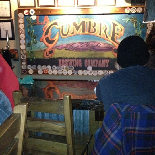 Photo taken at La Cumbre Brewing Company by John K. on 12/16/2012