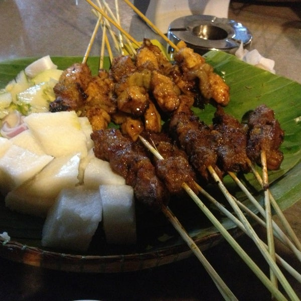 Nice tender satay but other items a bit expensive