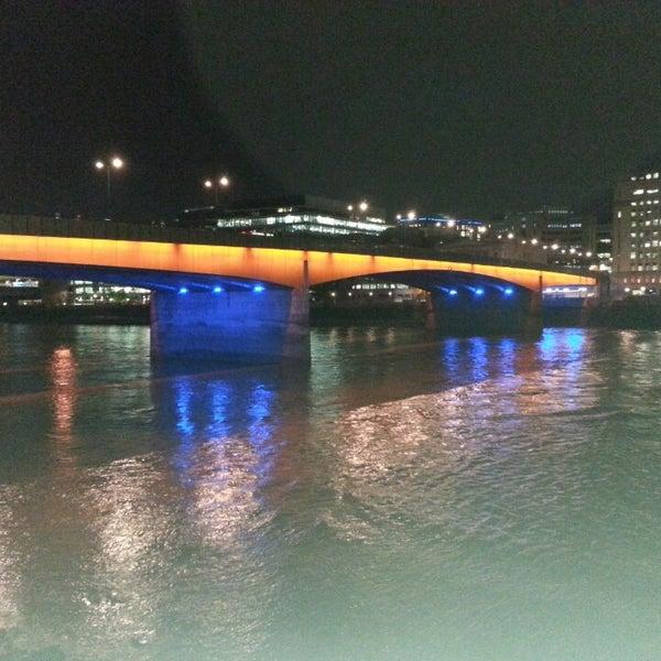 Photo taken at London Bridge by fzbravo .. on 6/26/2013