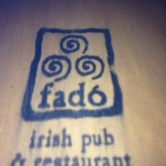 Photo taken at Fadó Irish Pub & Restaurant by Kevin D. on 11/15/2012