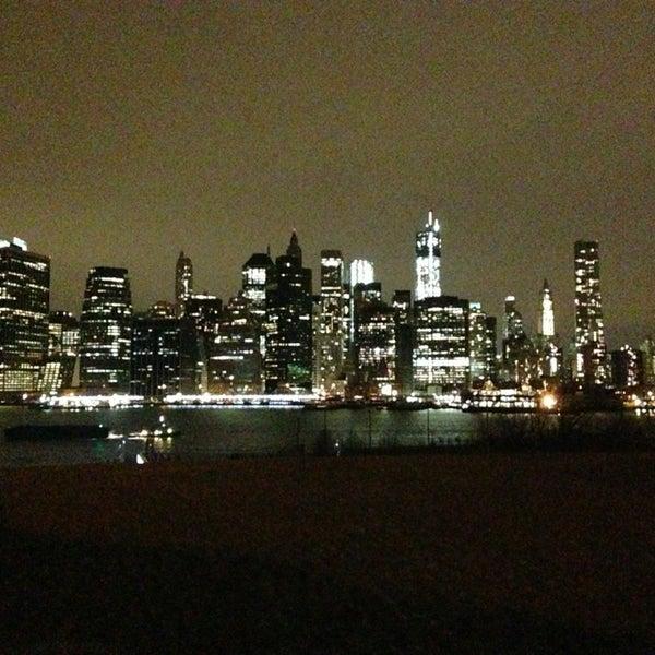 Photo taken at Brooklyn Bridge Park by Csani S. on 12/31/2012