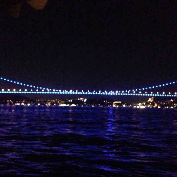Photo taken at Fatih Sultan Mehmet Bridge by Samet Ba on 9/21/2013
