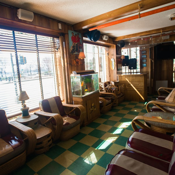 The nautical-themed bar is right at the western edge of the neighborhood, and has gorgeous views of the Hudson River to go along with cheap beers and hand-selected tunes from the old jukebox.