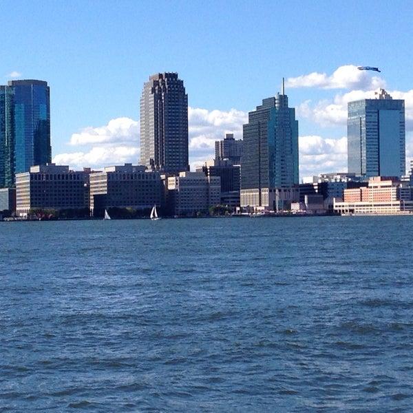 Photo taken at Battery Park City Esplanade by Steven K. on 9/28/2013