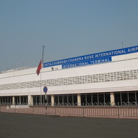 Netaji Subhas Chandra Bose International Airport is in Dum Dum, Kolkata, India. It is located approximately 16 km (10 miles) from Kolkata's city centre.
