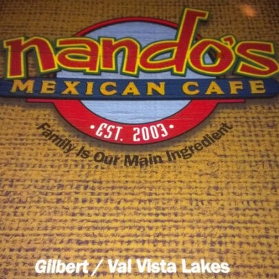 Photo taken at Nando's Mexican Cafe by Avril T. on 1/22/2013